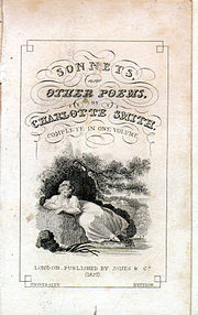 Title page, Sonnets and Other Poems, 1827