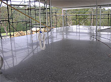 New Polished Concrete Slab