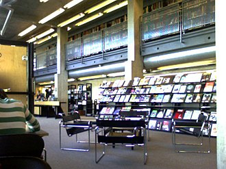Emily Carr University of Art and Design - The library in the South Building
