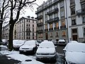 Snow in Geneva, Rue De-Candolle, by Patrick Nouhailler.jpg