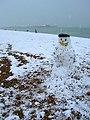 Snowman, Brighton Beach - geograph.org.uk - 752838.jpg