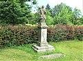 Socha svatého Jana Nepomuckého naproti domu 219 ve Starých Křečanech (Q104983711) 01.jpg