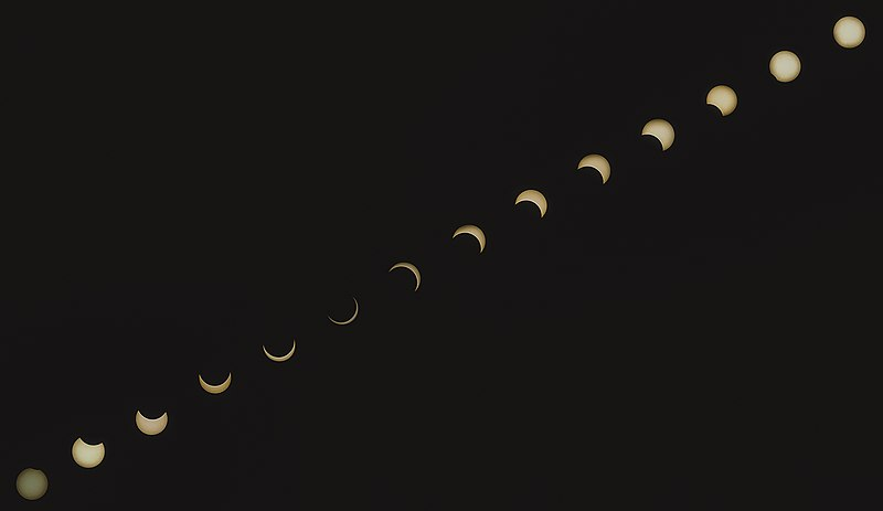 see: a Solar eclipse