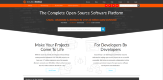 SourceForge Web-based source code repository