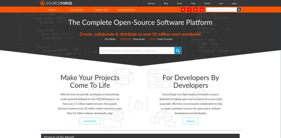 SourceForge net update
