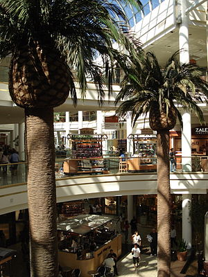 Redondo Beach, California - South Bay Galleria, a shopping mall on the border of Lawndale