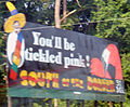 South of the Border sign 31 - Youll be tickled pink.JPG