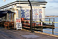 Southend pier, old tea shop - geograph.org.uk - 299240.jpg