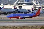 Southwest Airlines, Boeing 737-3H4(WL), N618WN - LAX (21901679994).jpg