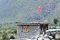 Soviet flag in Humde - Annapurna Circuit, Nepal - panoramio.jpg