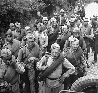 25th Army (Soviet Union) - Troops of the army in Korea, October 1945