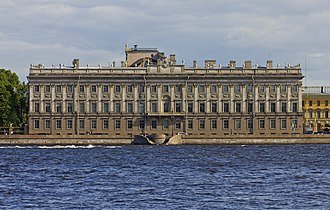 Marble Palace - Image: Spb 06 2012 Palace Embankment various 01