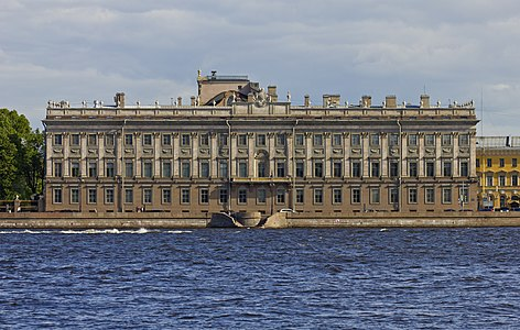 Marble Palace at the Neva in Saint Petersburg, Russia