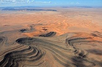 Sperrgebiet - Image: Sperrgebiet Namibia aus der Vogelperspektive (2017)