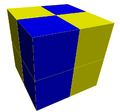 Square prismatic 2-color honeycomb.png