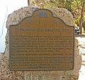St. Francis Dam Disaster Site historical marker.jpg