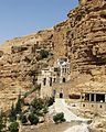 St. George's Monastery.Monks live in caves in canyon walls.jpg