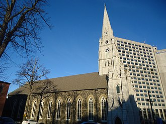 St. Mary's Basilica (Halifax) - Image: St. Mary's Side