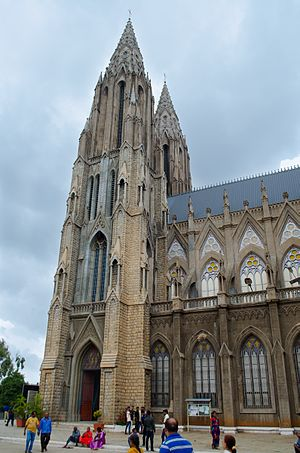 St. Philomena's Cathedral, Mysore - St. Philomena's Church