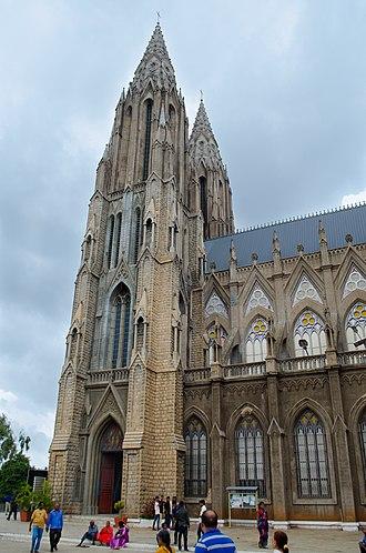 St. Philomena's Cathedral, Mysore - St. Philomena's Church