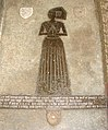 St Andrew's church - C15 brass to Margaret Castyll - geograph.org.uk - 1338187.jpg