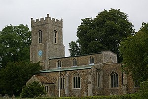 Abbots Ripton - Image: St Andrew's church geograph.org.uk 460393
