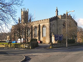 St James Church, Oldham Church in Greater Manchester, England