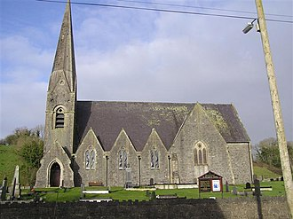 Clabby - Image: St Margaret's Church of Ireland, Clabby geograph.org.uk 303773