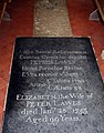 St Margaret, Hales, Norfolk - Ledger slab - geograph.org.uk - 1493018.jpg
