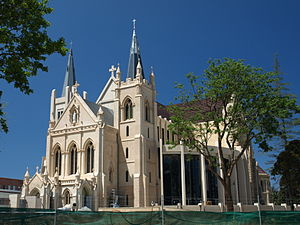 Roman Catholic Archdiocese of Perth - Cathedral of the Immaculate Conception of the Blessed Virgin Mary (St Mary's), Perth