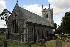 St Mary's Church, Ickworth - St Mary's Church, Ickworth