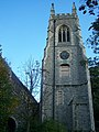 St Mary's Church Clock Tower, Chatham - geograph.org.uk - 1024491.jpg