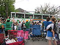 St Pats Parade Day Metairie 2012 Parade D1.JPG