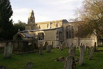 Pega - The parish church in Peakirk is dedicated to Saint Pega