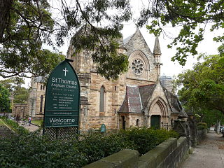 St Thomas Anglican Church, North Sydney Church in New South Wales, Australia