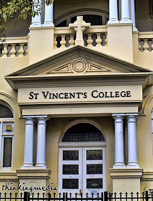 Mary Putland - Tarmons, now St Vincents College, 2012