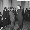 Staatsbezoek president Nyerere van Tanzania, aankomst president Nyerere in Amste, Bestanddeelnr 917-6712.jpg