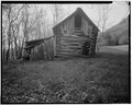 Stable, north elevation - Trump-Lilly Farm, Hinton, Summers County, WV HABS WVA,45-HINT.V,1-30.tif