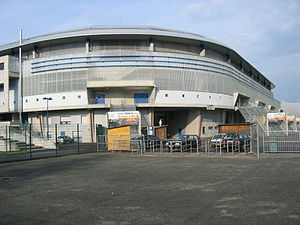 FC Sochaux-Montbéliard - Entrance to the Stade Bonal