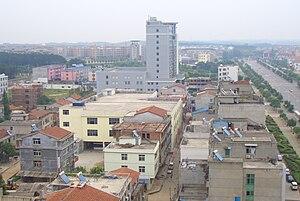 Xianning - Image: Stadtrand Xianning