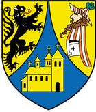 Das Wappen von Borna