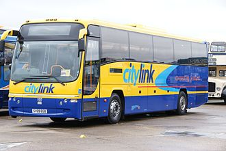 Scottish Citylink - Plaxton Panther bodied Volvo B12B in September 2010