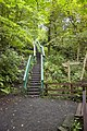 Stairway on footpath from Colinton Dell - geograph.org.uk - 1469851.jpg