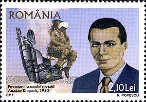 Anastase Dragomir - Image: Stamps of Romania, 2011 92