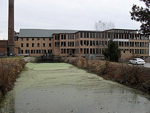Central Woolen Mills District - Image: Stanley Woolen Mill Uxbridge MA 079