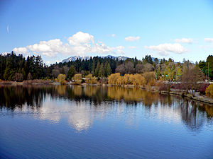 Stanley Park Ecology Society - Stanley Park's Lost Lagoon, one of the main sites the SPES is responsible for