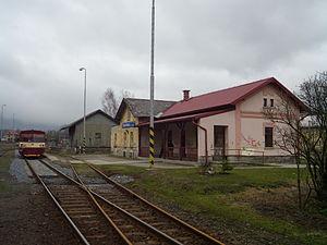 Staré Město (Šumperk District) - Train station