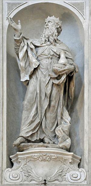 Giovanni Maria Morlaiter - Image: Statue 1 GM Morlaiter Chiesa dei Gesuati Venice