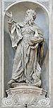 Statue 1 GM Morlaiter Chiesa dei Gesuati Venice