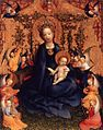 Stefan Lochner - Madonna of the Rose Bush - WGA13346.jpg